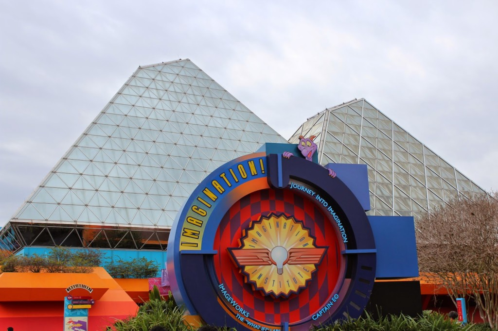 Epcot Journey into Imagination with Figment
