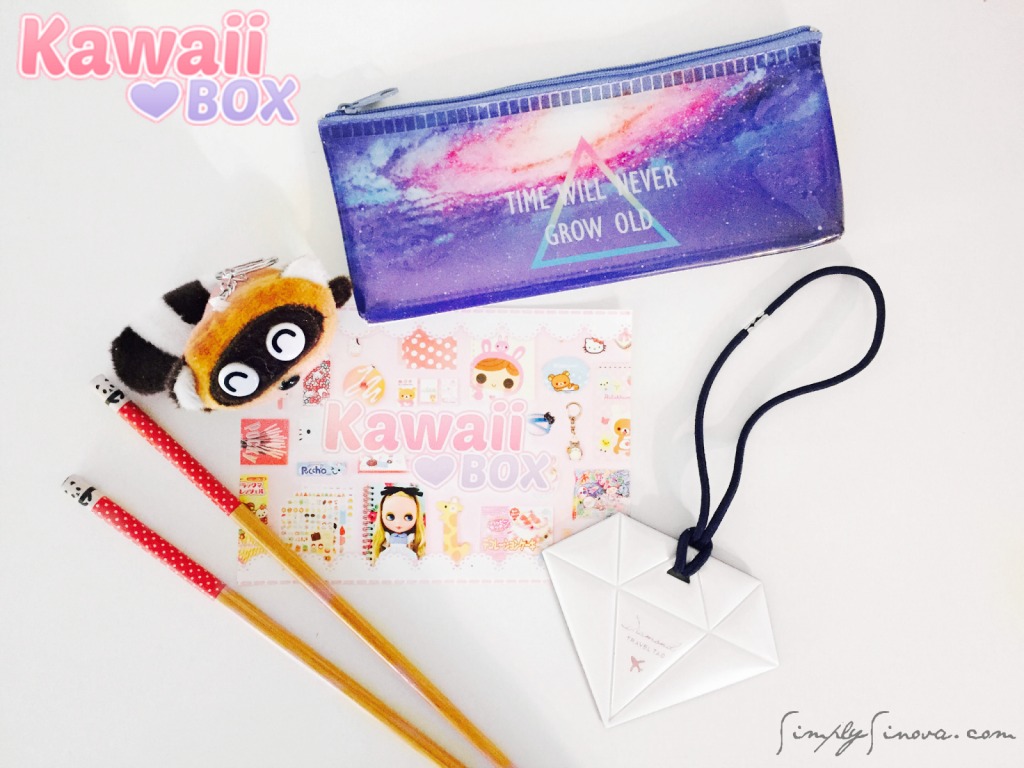 Kawaii Box Review, Kawaii Box GIVEAWAY, Kawaii, Kawaii Giveaway