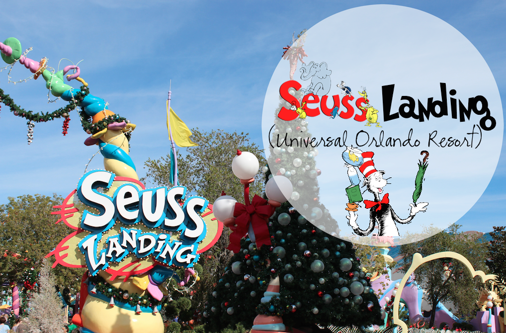 Suess Landing during Christmas