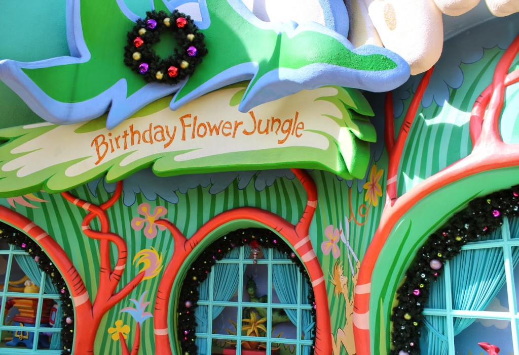 Seuss Landing Islands of Adventure Birthday Flower Jungle