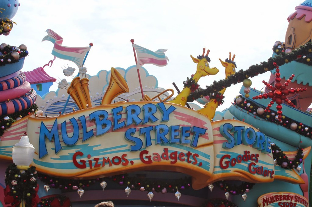 Seuss Landing Islands of Adventure Mulberry Street Store