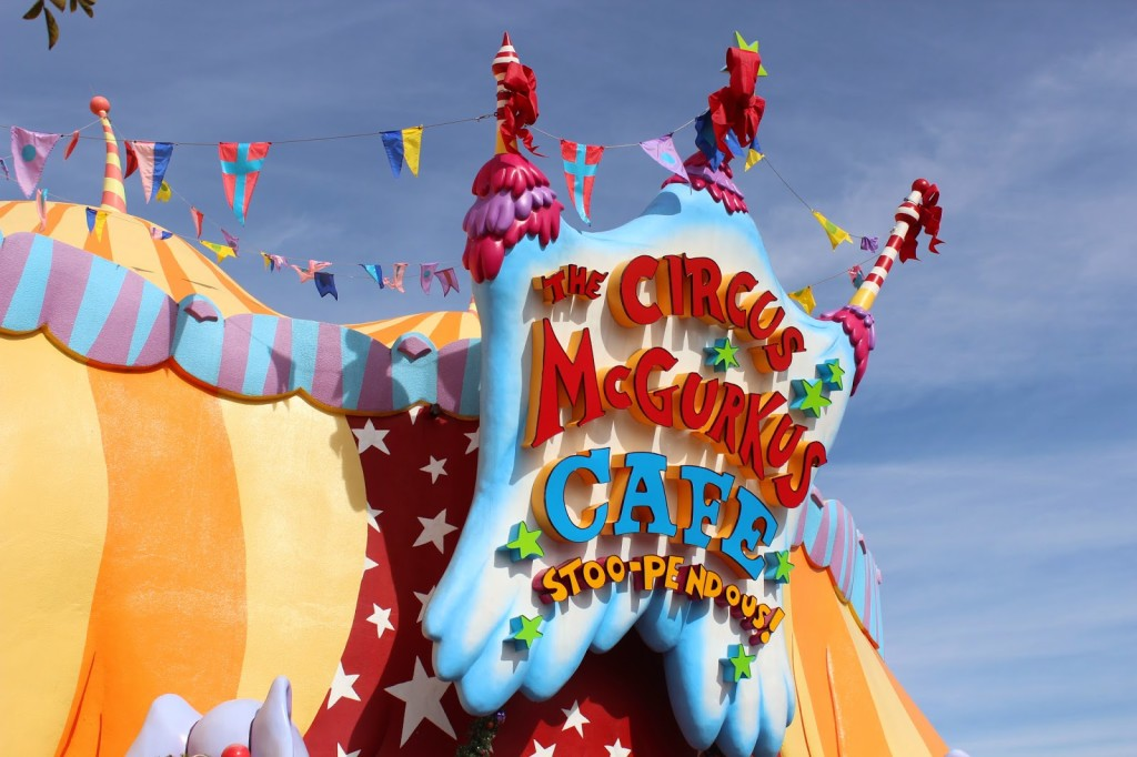 Seuss Landing Islands of Adventure The Circus McGurkus Cafe Stoo-pendous