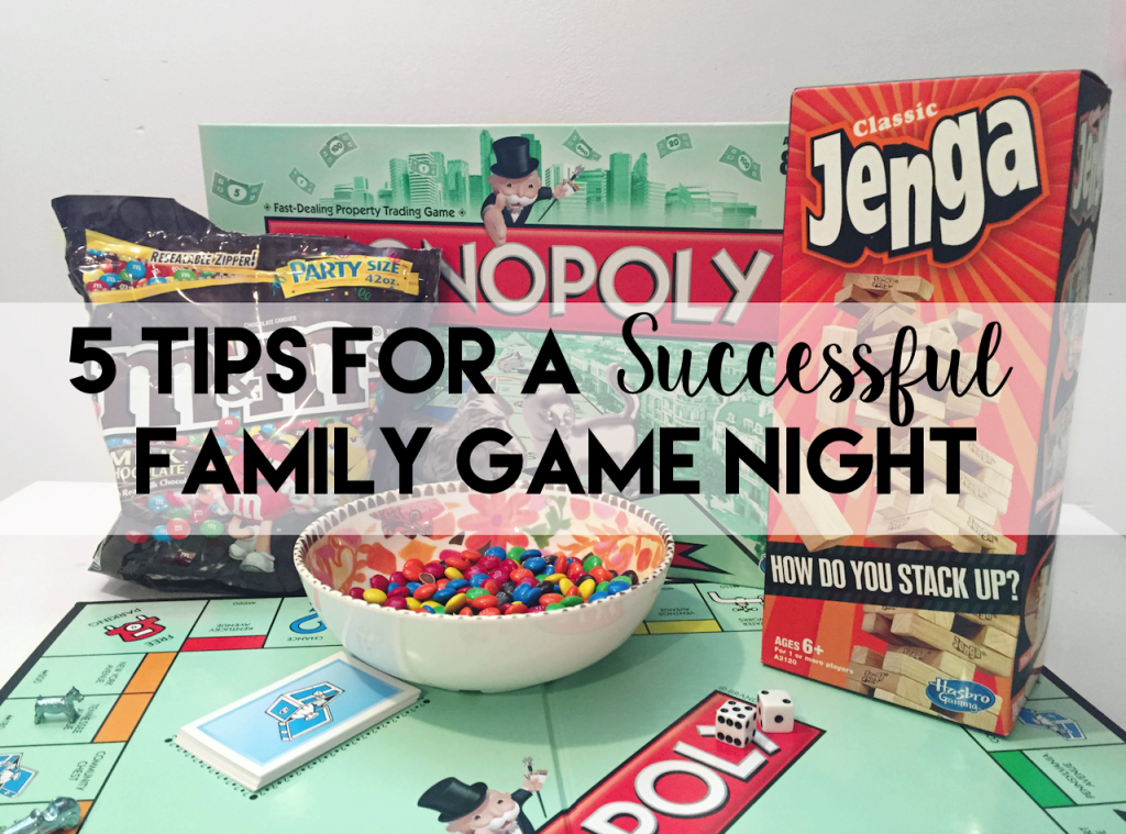 Tips For A Successful Family Game Night