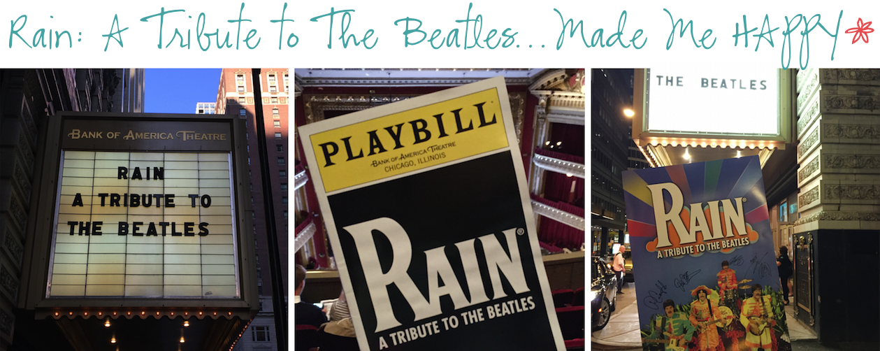 12 months of happiness rain a tribute to the beatles