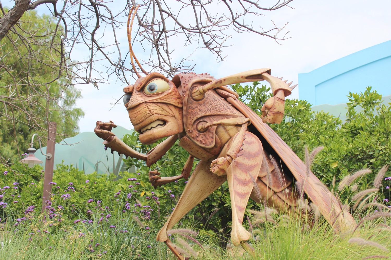 Disney California Adventure A Bug's Life Hopper
