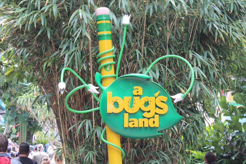 Disney California Adventure A Bug's land
