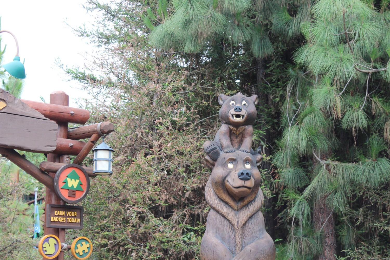 Disney California Adventure Brother Bear