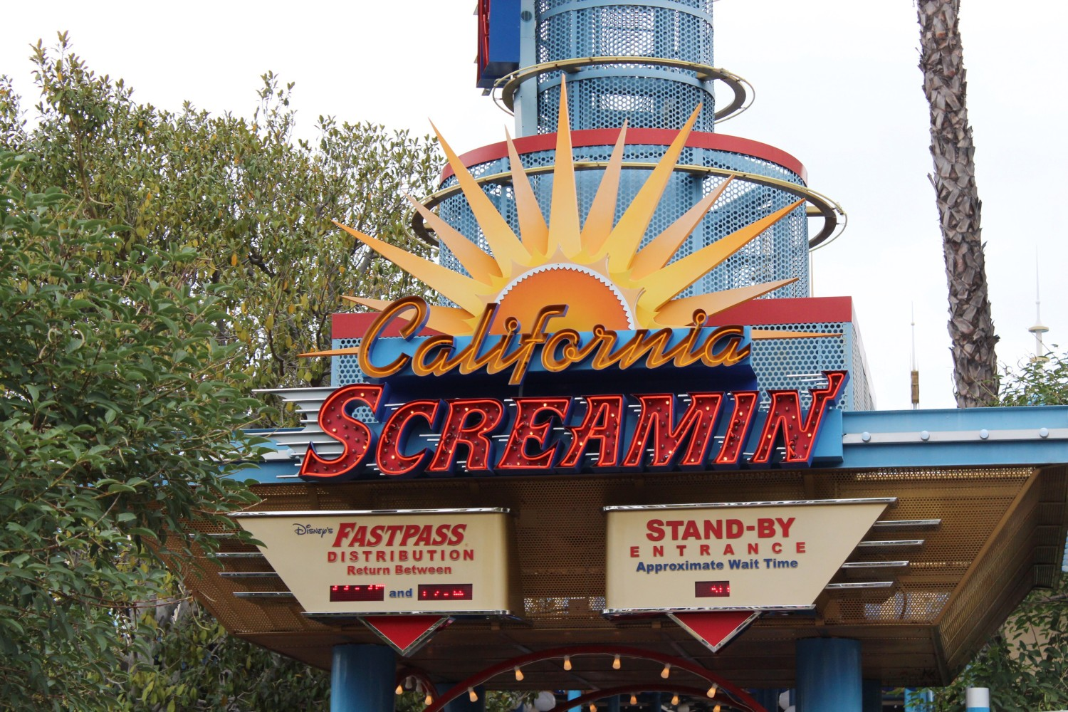 Disney California Adventure California Screamin'