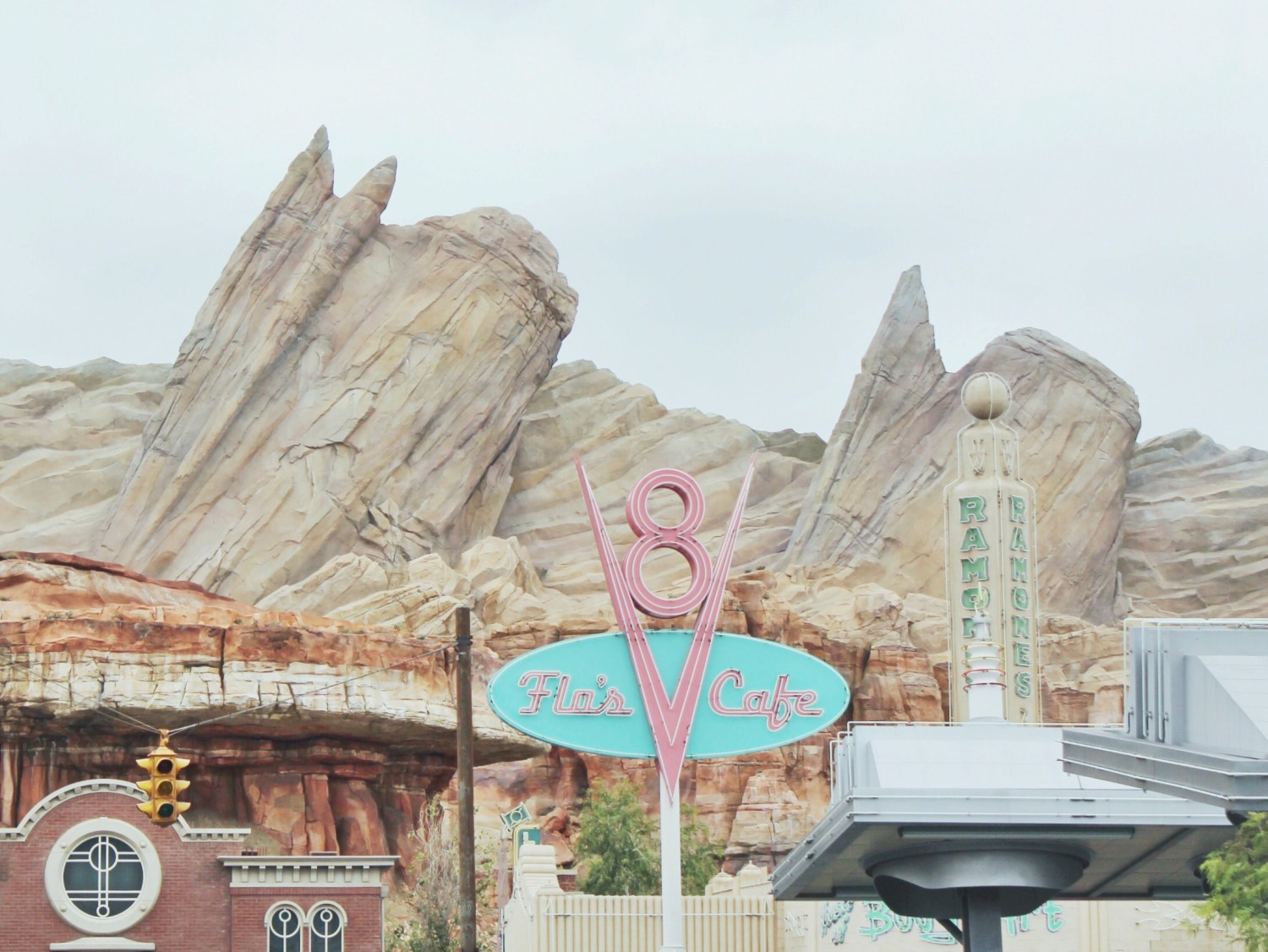 Disney California Adventure Carsland