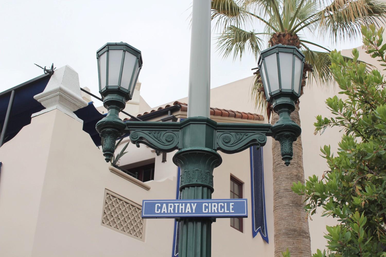 Disney California Adventure Carthay Circle Sign
