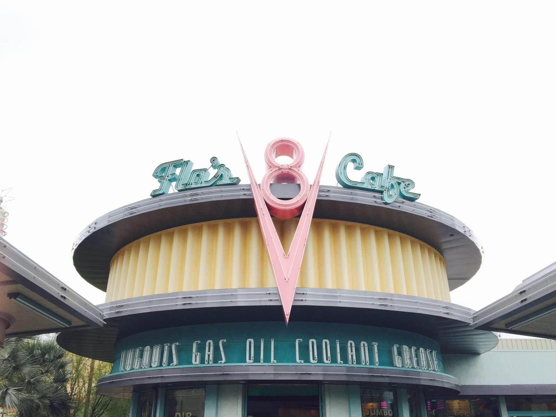 Disney California Adventure Flo's Cafe Carsland