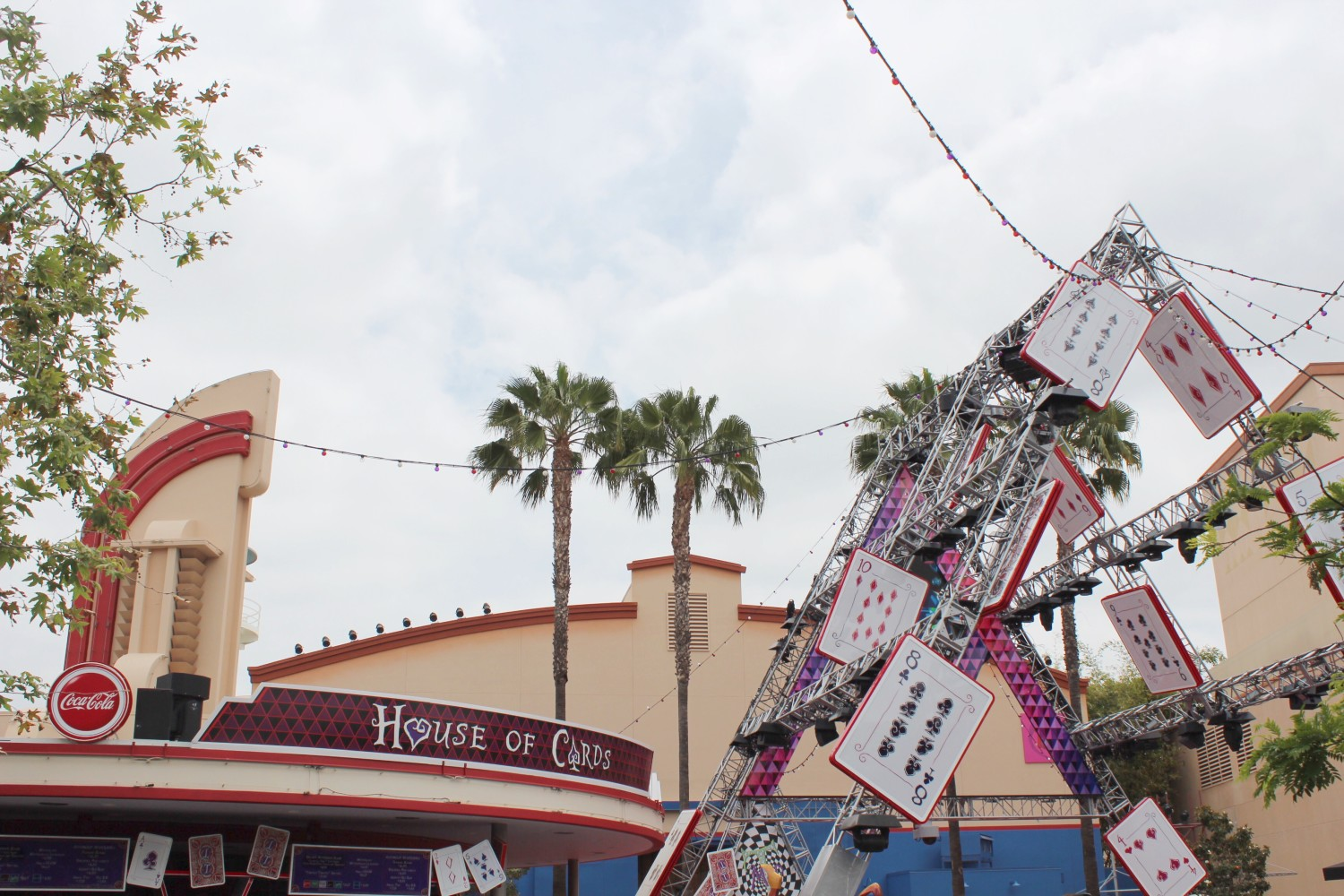 Disney California Adventure Hollywood Studios House of Cards