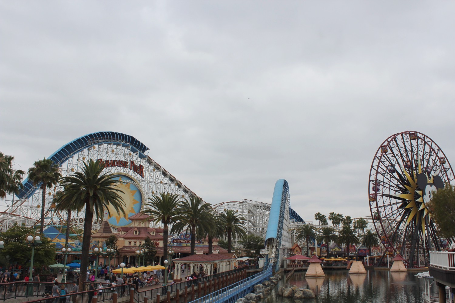 Disney California Adventure Paradise Pier California Screamin'