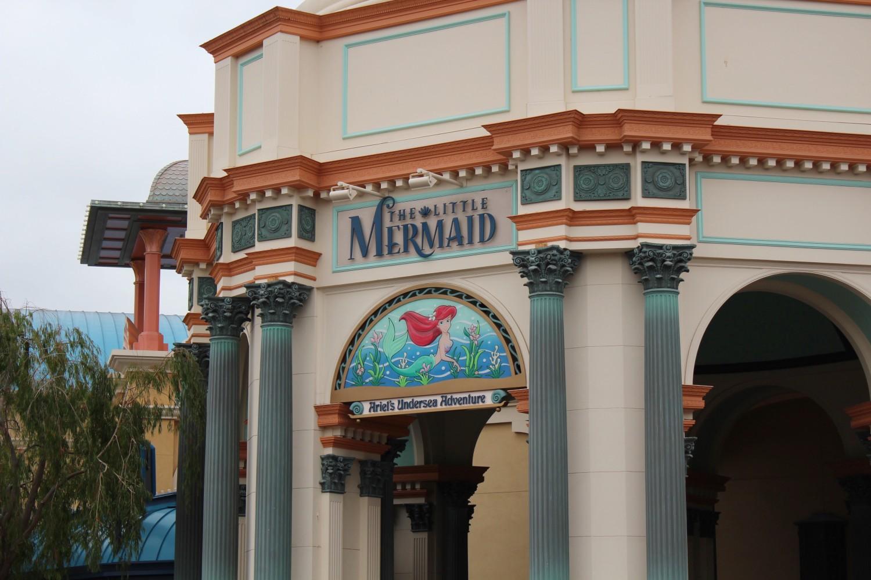 Disney California Adventure The Little Mermaid Ariel's Undersea Adventure