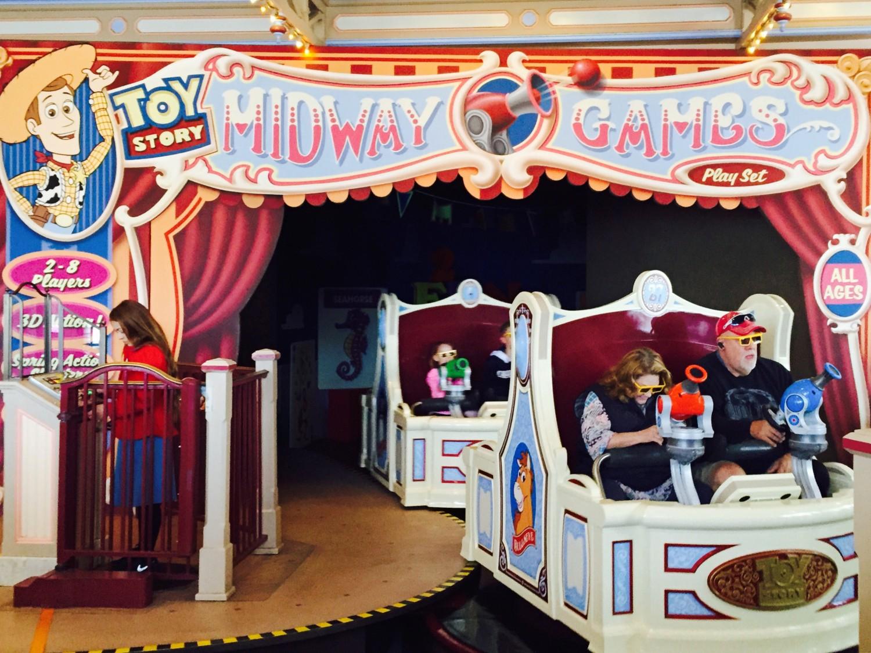 Disney California Adventure Toy Story Midway Mania