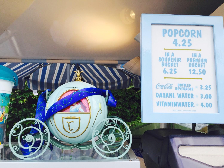 Disney Cinderalla Popcoen Bucket