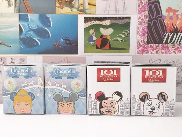 Cinderella Vinylmation, 101 Dalmatians Vinylmation, Disney Vinylmation blind box