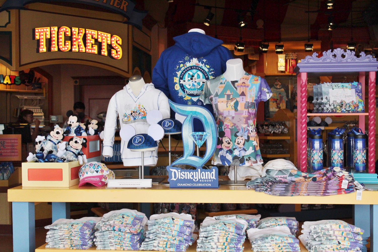 Disneyland 60th Anniversary Diamond Celebration Merchandise