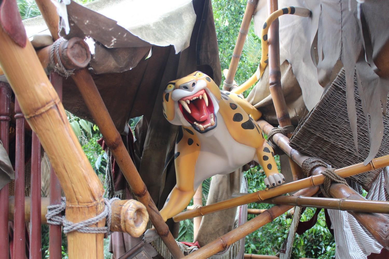 Disneyland Cheetah from Tarzan