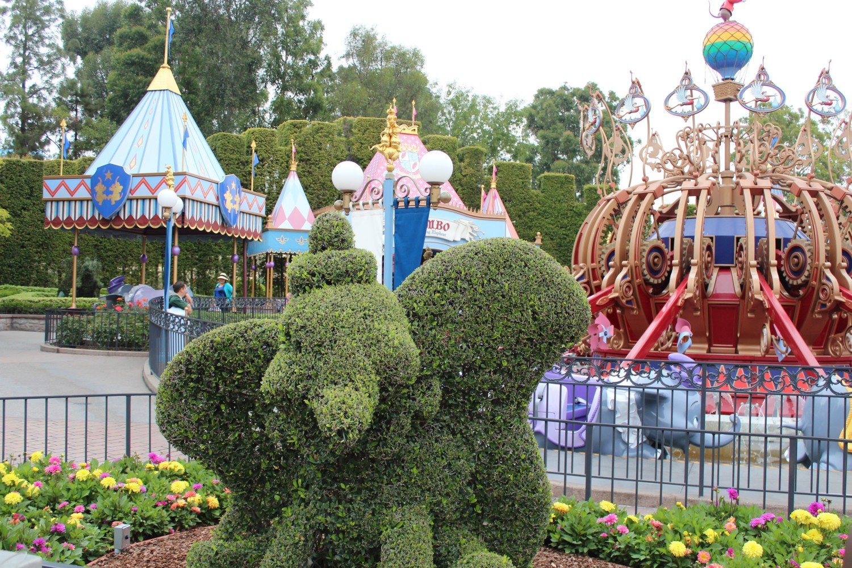 Disneyland Dumbo Hegde