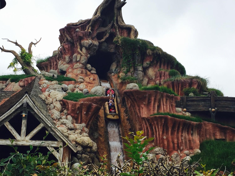 Disneyland Splash Mountain Drop