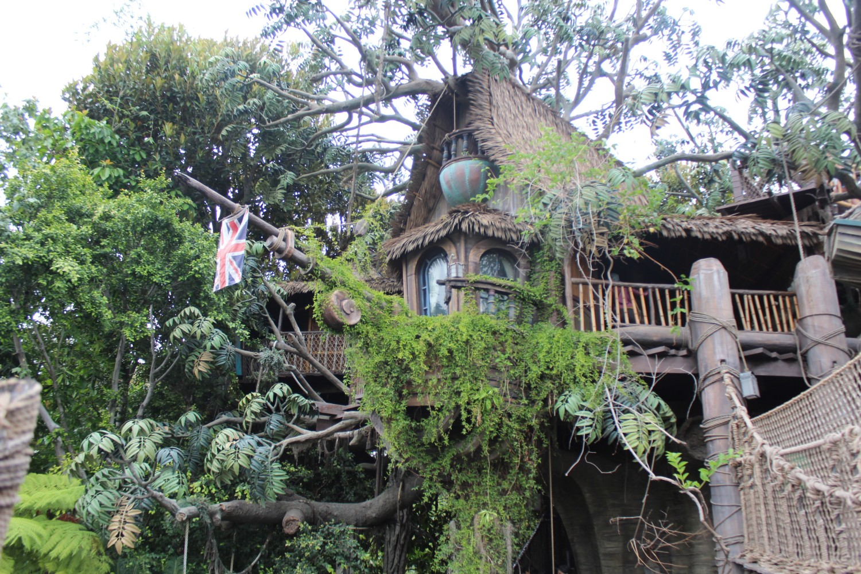 Disneyland Tarzan's Treehouse