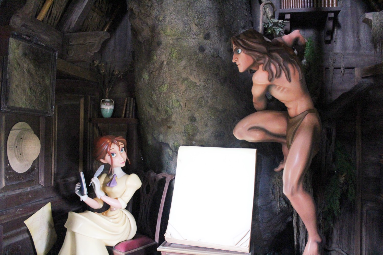 Tarzan's Treehouse Disneyland Tarzan and Jane