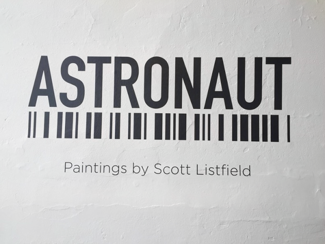 Astronaut Scott Listfield Exhibit