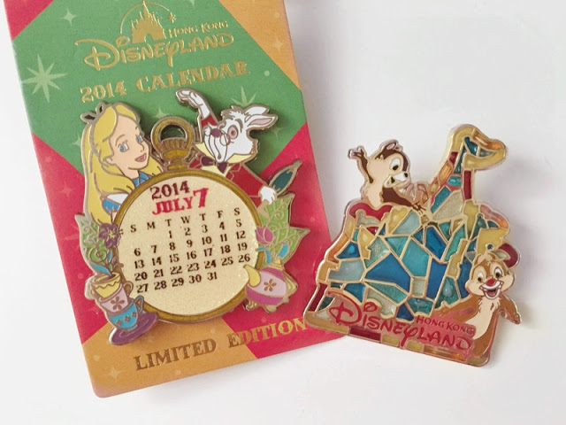 Hong Kong Disneyland Pins