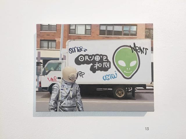 Scott Listfield Alien Delivery Truck