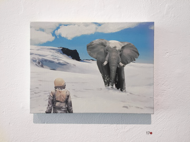 Scott Listfield Snow Elephant