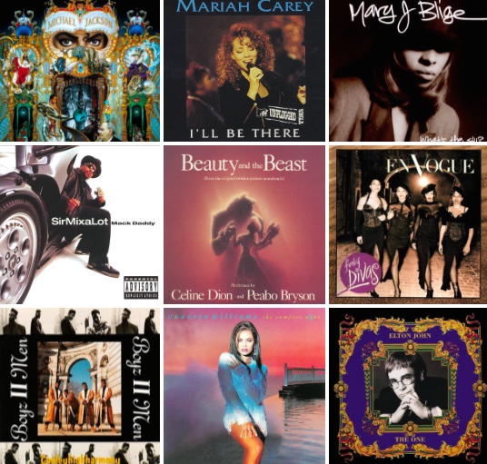 Monday's Music Best Songs from 1992