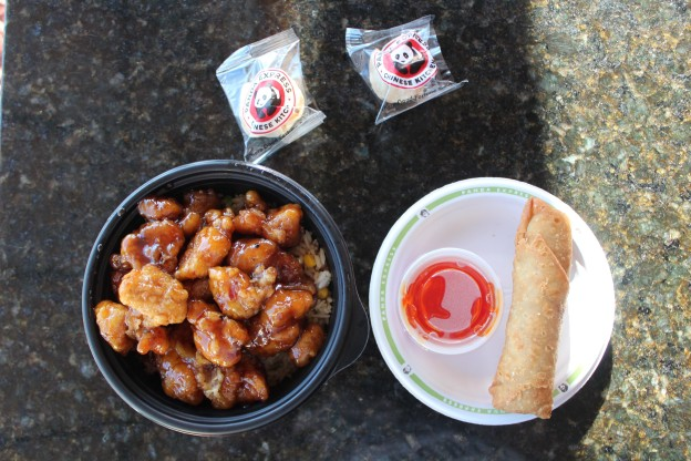 Orange Chicken Love Panda Express Food Truck Tour