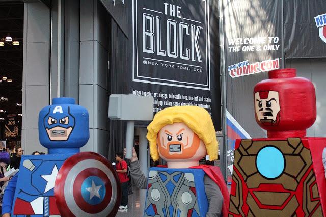 New York Comic Con LEGO cosplay