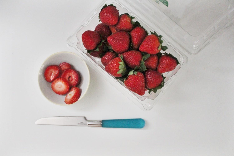 Fresh Cut Strawberry