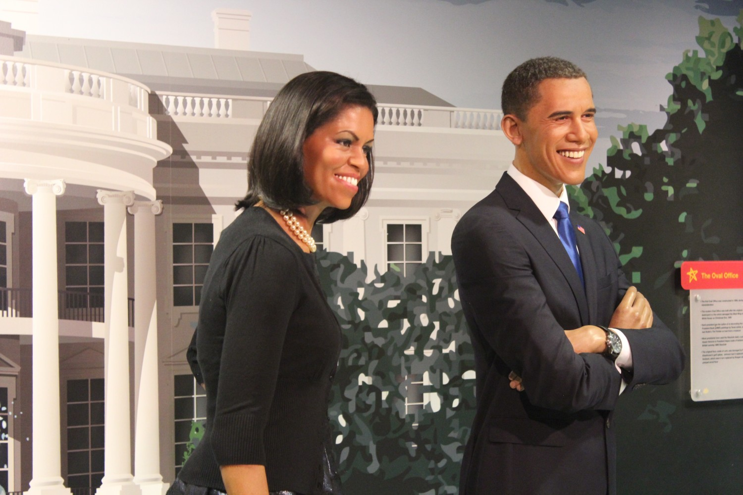 Madame Tussauds Washington D.C. Barack Obama Wax Figure
