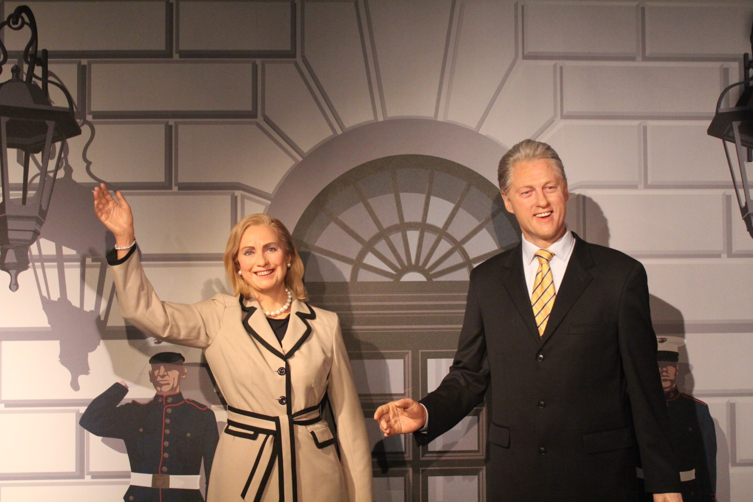 Madame Tussauds Washington D.C. Clinton Wax Figure