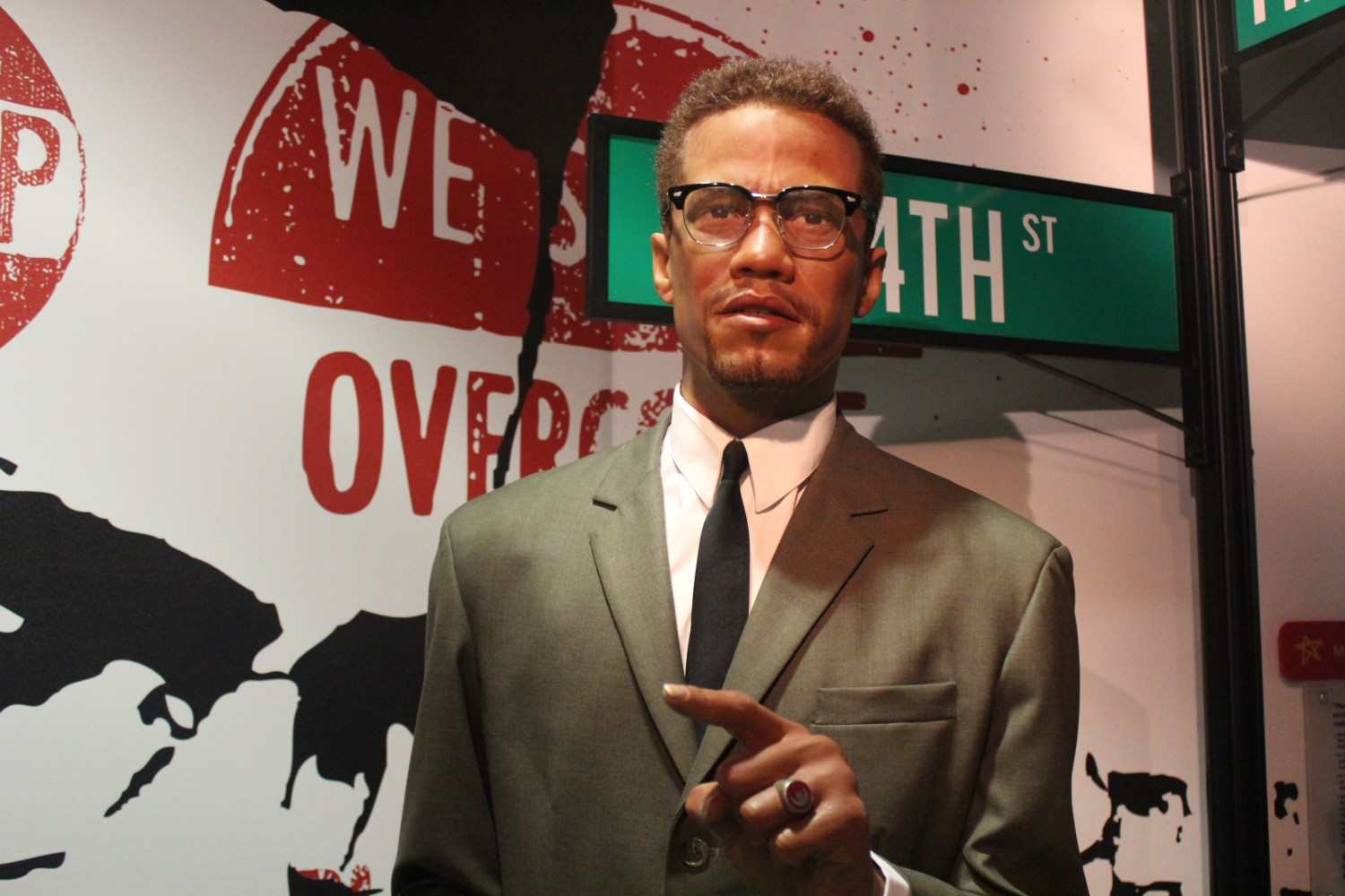 Madame Tussauds Washington D.C. Malcolm X