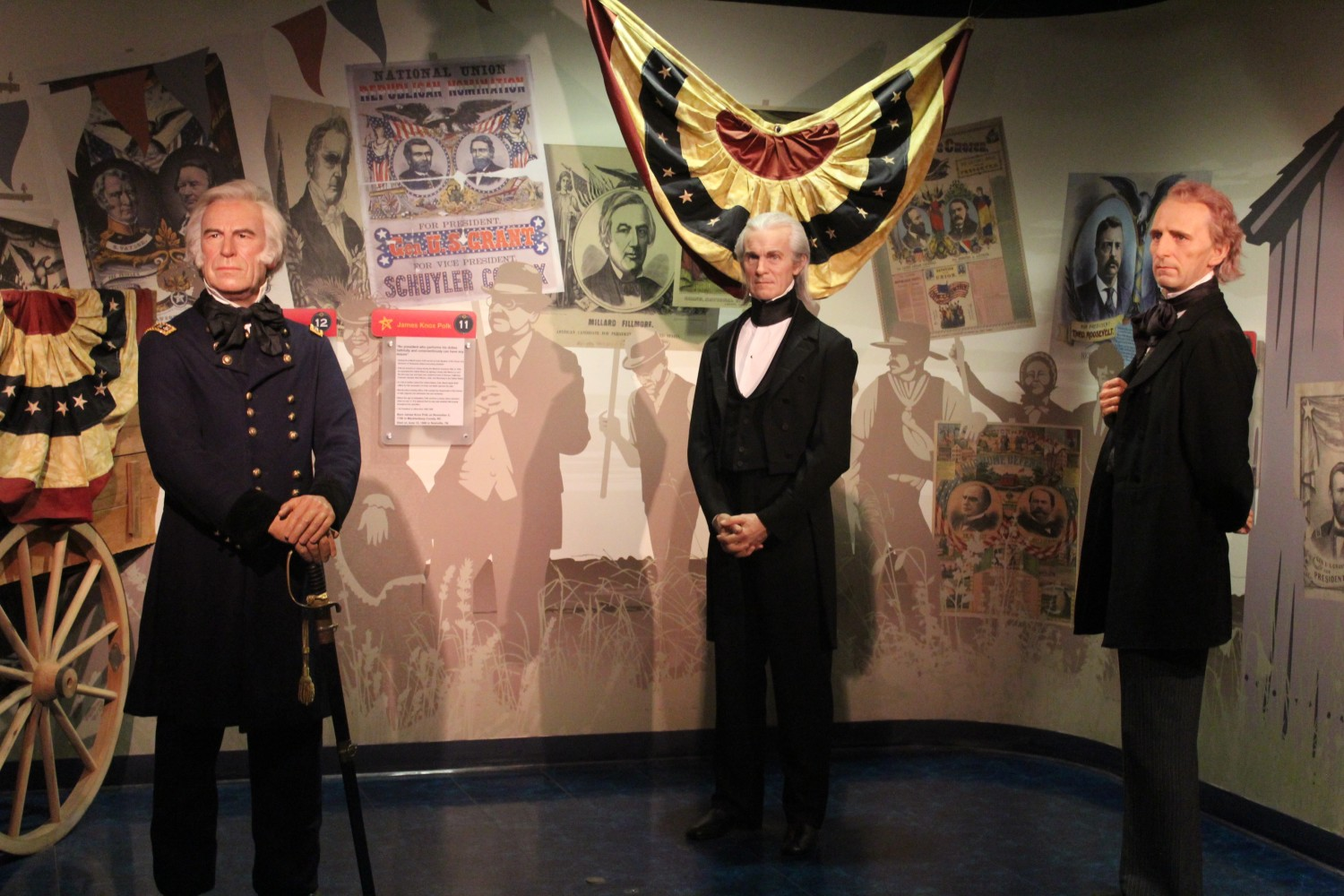 Madame Tussauds Washington D.C. Presidents