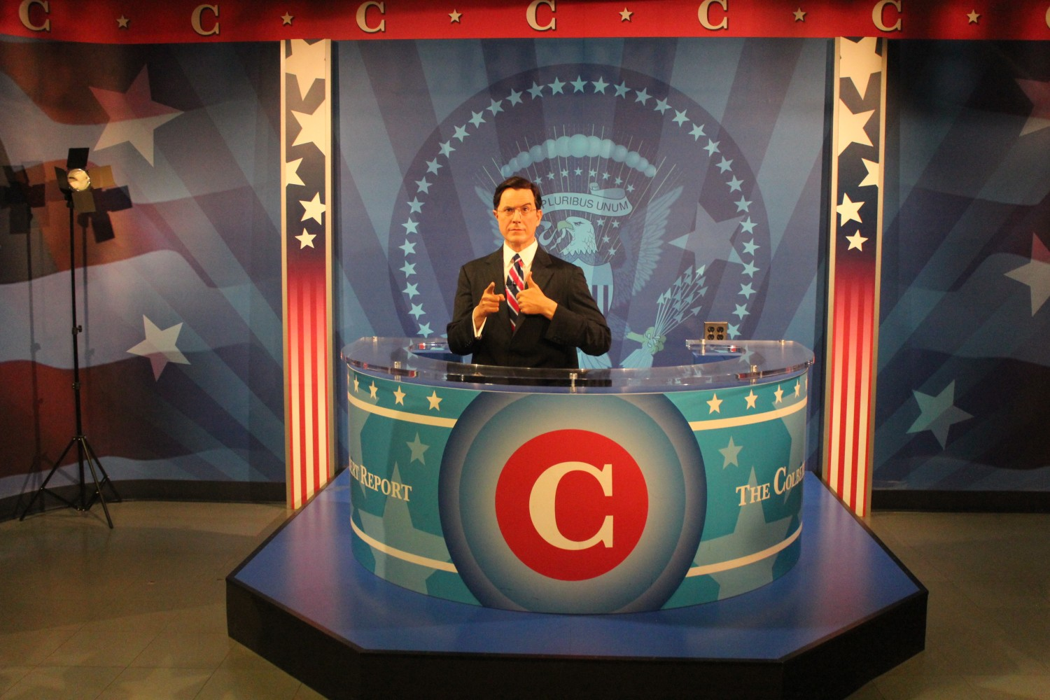 Madame Tussauds Washington D.C. Stephen Colbert