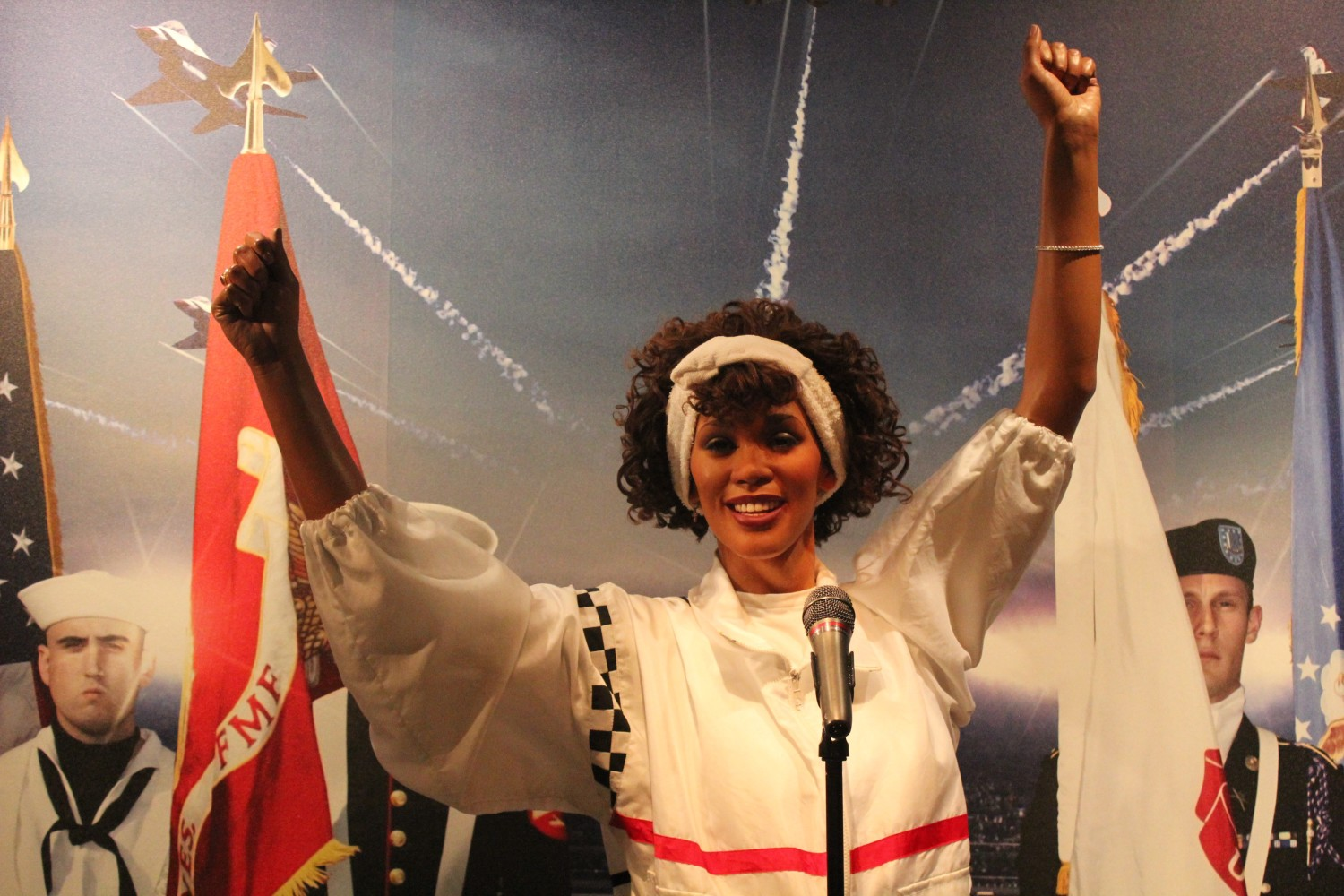 Madame Tussauds Washington D.C. Whitney Houston