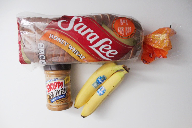 Peanut Butter Banana Sushi roll recipe