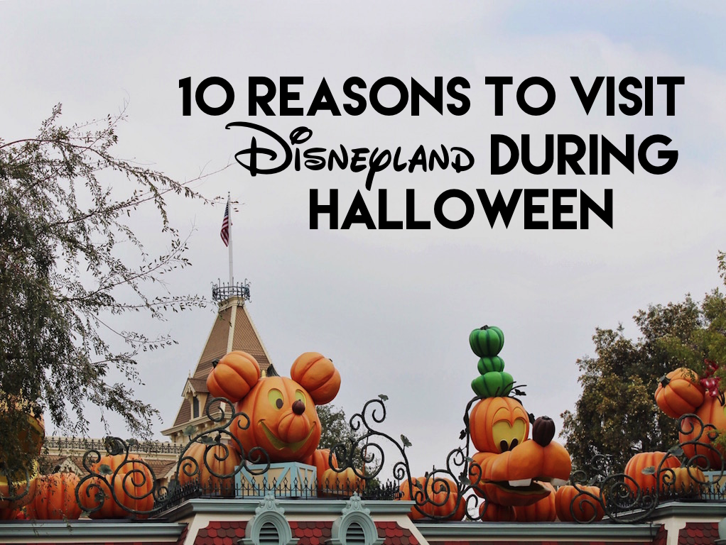 10 Reasons To Visit Disneyland During Halloween Time