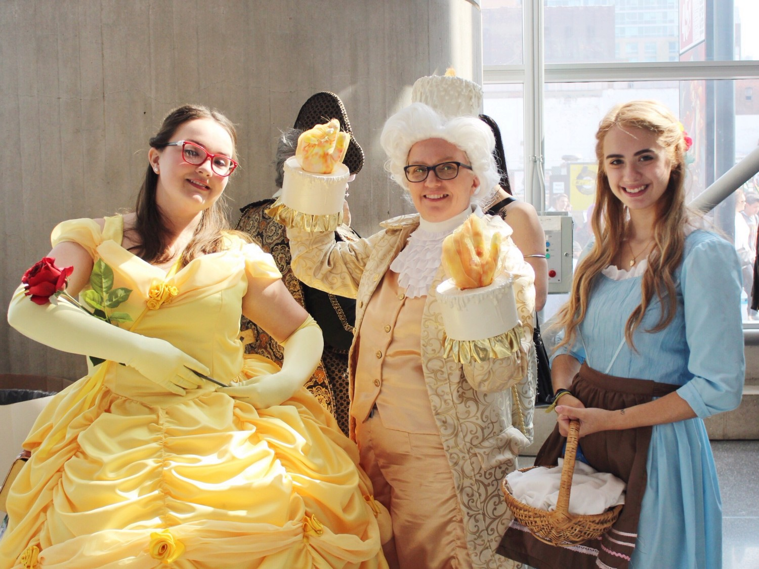 Beauty and the Beast Comic Con Cosplay