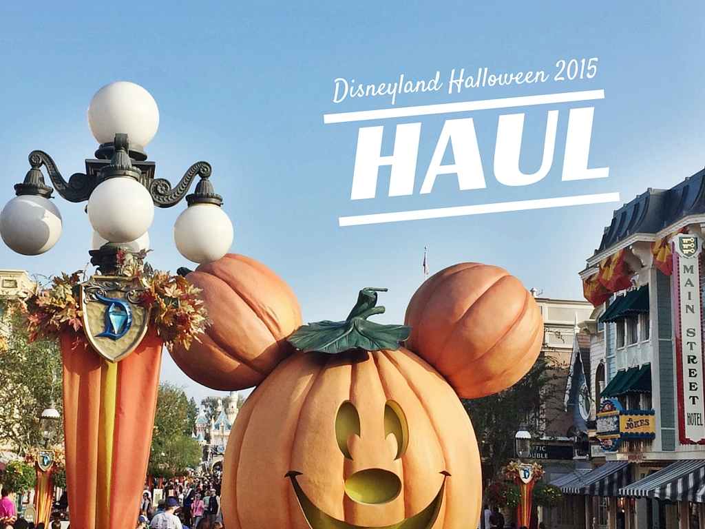Disneyland Halloween 2015 Haul
