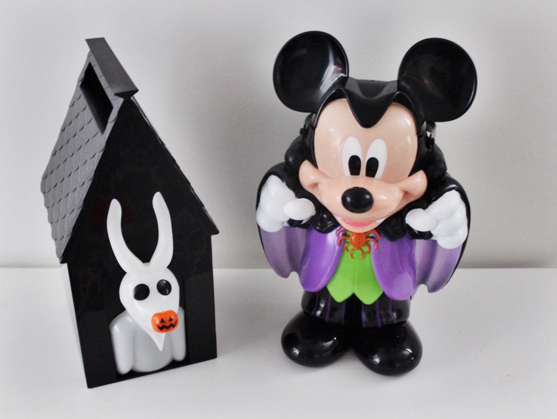 Disneyland Halloween Zero Vampire Mickey Popcorn Bucket