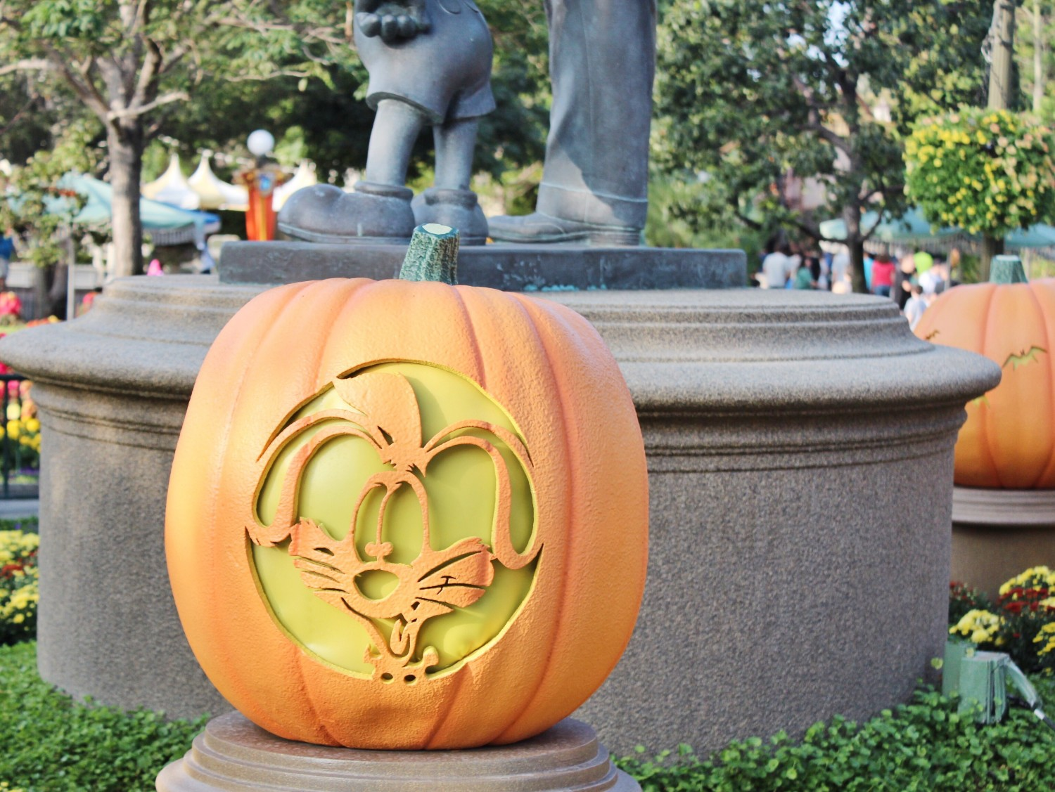Disneyland Roger Rabbit Pumpkin