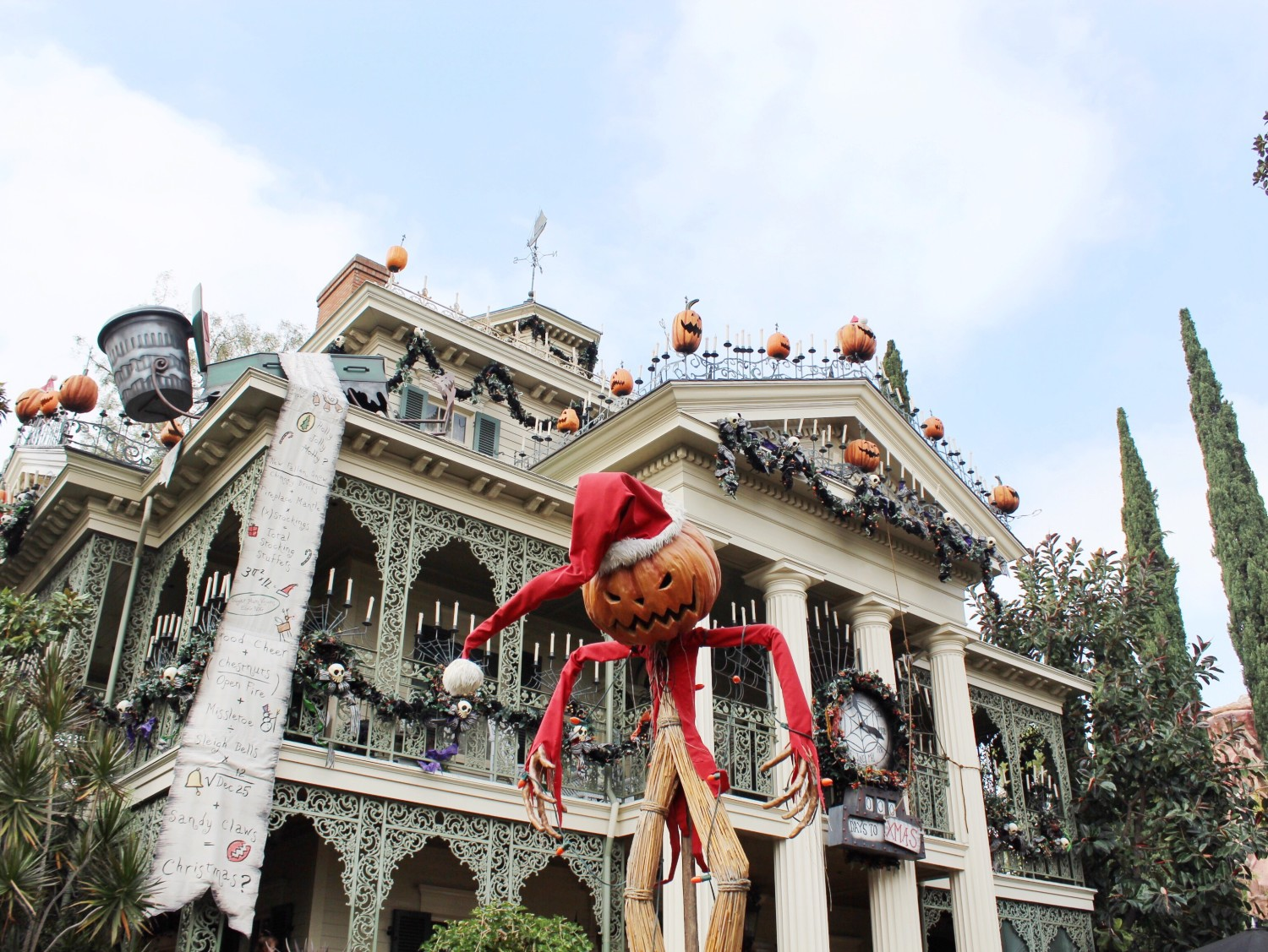 Haunted Mansion Holiday Pumpkin King