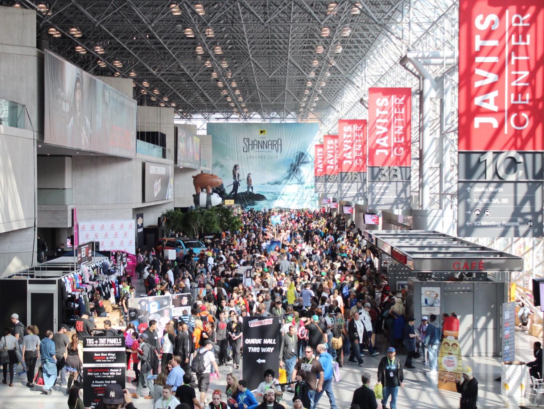 New York Comic Con 2015 Crowds