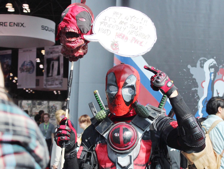 New York Comic Con Deadpool Cosplay